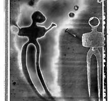 """Abstract Black and White Art Photo - """"The Juggler"""" by Paul Williams"""