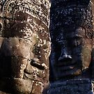 Faces of Bayon by ellanewbury