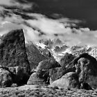 Sharkfin and Mt. Whitney by Chris Morrison