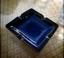 Ashtray, Blue Bird Cafe - Shenzhen, China by Robert Baker