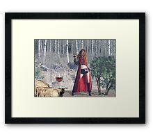 Want Some Norwegian Wood Framed Print