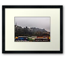 Pick  A Tour Bus? Framed Print