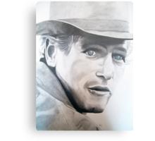 Butch Cassidy- Paul Newman Metal Print