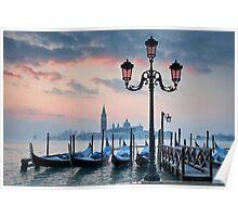 Venice Dawn Poster