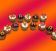 Happy Birthday Cupcakes by tali