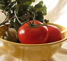Tomato Still Life by LindieRacz