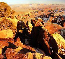 Canyonlands Overlook Mid-Winter by Ryan Houston