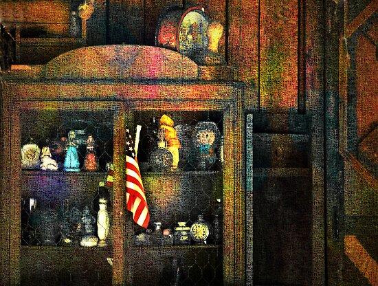 The Trinkets In Grandma's Hutch  (photo story) by CarolM