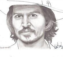 Johnny Depp by emarshall