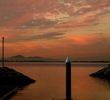 Sunset Limeberners Point,Geelong by Joe Mortelliti