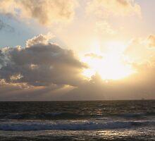 Winter Storm & Sunset by Stephen Horton