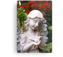 Caring; Wat Garden La Mirada, CA USA  Metal Print