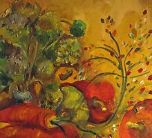 Tuscany Vegetables by artbydelilah