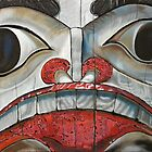 Sechelt First Nation Totem by Gigi Butterfly Hoeller