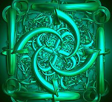 The green sculpture by CanDuCreations