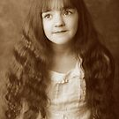 Leah, sepia by Lisa Roberts