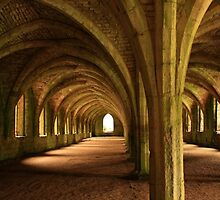 Fountains Abbey - North Yorkshire by Kat Simmons