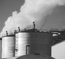 black and white industry by clancy214