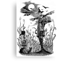 The Scarecrow of Oz Canvas Print