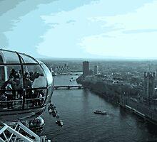 Highest Point In London by Al Bourassa