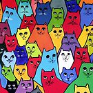 The Cat Pack by Anni Morris