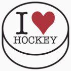 I love Hockey by Roberto Irace