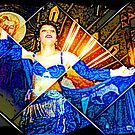 Egyptian belly dancer  by Marilyns