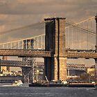 East River Bridges by AJM Photography