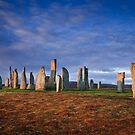 Early morning at the Callanish Stones by Christopher Thomson