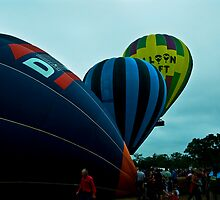 Inflating, inflated and away we go!!! by Jason Ruth