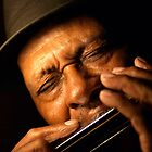 Little Sammy Davis w/Chromatic  by John Rocklin