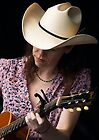 Gillian Welch In Purple by John Rocklin