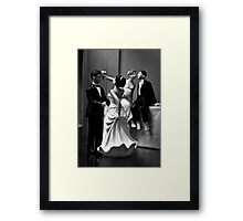 Wedding Party Framed Print