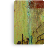 Abstract Waterfall-Train Texture Canvas Print