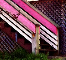 Pink Stair by Jay Gross