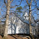 Cades Cove Primitive Methodist Church by JeffeeArt4u