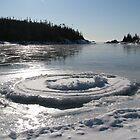 Heron Bay Ontario - Wharf Road - Lake Superior by loralea