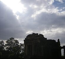Temple, Siem Reap, Cambodia by b00fa