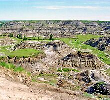 The Badlands, Drumheller, Alberta, Canada by Adrian Paul