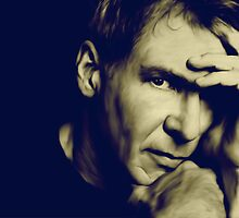 Harrison Ford by BebeMic