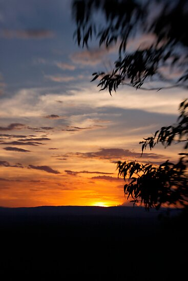 Sunset at The Bluff by Adriana Glackin