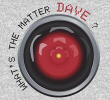 What's the matter Dave? | HAL 9000 by 8eye