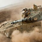 """Duststorm""  - IDF Tank by Noam Garmiza"