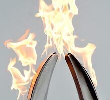 Pass the flame - unite the world by Denise Couturier