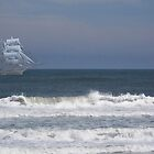 Ghost  Ship by Maureen Bloesch