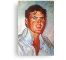 Portrait of James Canvas Print