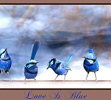 Love Is Blue by Wendy  Slee