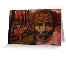 ''Twilight in the land of Lincoln'' Greeting Card