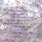 Greeting Card Psalm 139 You Precious One are Precious to your Heavenly Creator Almighty God  by bronspst