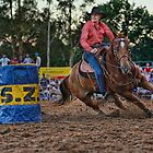 Barrel Racer by Ian English